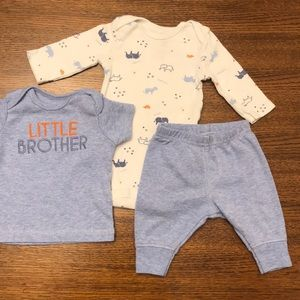 Carter's Baby Boy Clothes Set